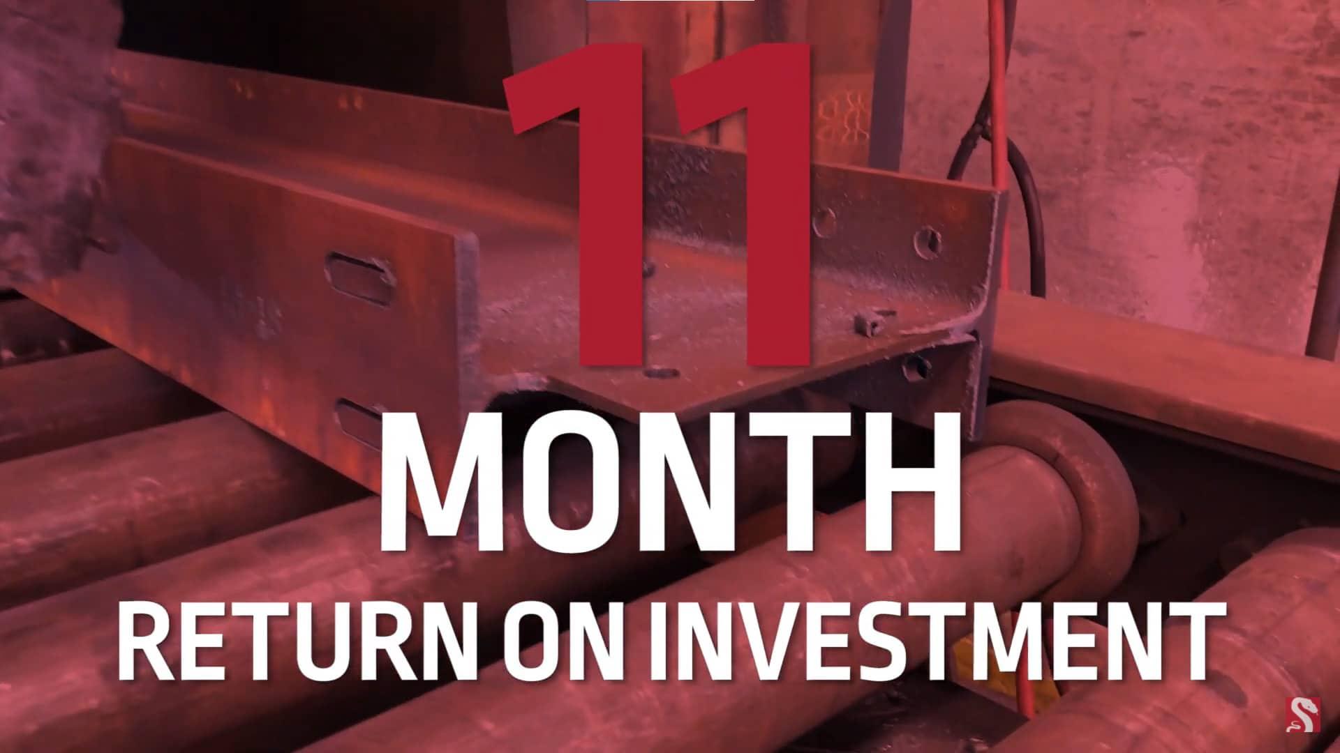 11 month return on investment